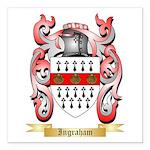 Ingraham Square Car Magnet 3