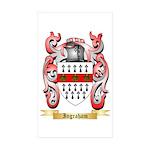 Ingraham Sticker (Rectangle 10 pk)