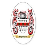 Ingraham Sticker (Oval 10 pk)