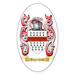 Ingraham Sticker (Oval 50 pk)