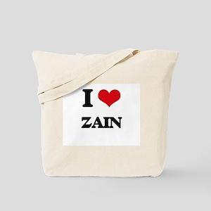 I Love Zain Tote Bag