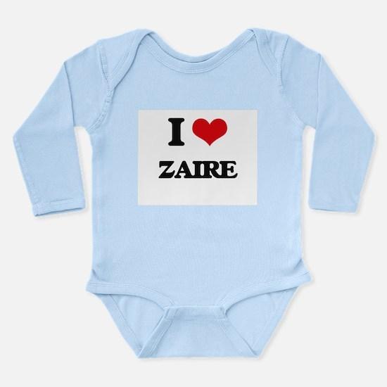 I Love Zaire Body Suit