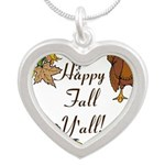 Happy Fall YAll Autumn Thanksgiving Necklaces
