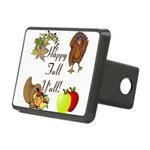 Happy Fall YAll Autumn Thanksgiving Hitch Cover