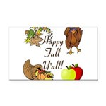 Happy Fall YAll Autumn Thanksgiving Rectangle Car