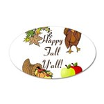 Happy Fall YAll Autumn Thanksgiving Wall Decal