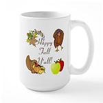 Happy Fall YAll Autumn Thanksgiving Mugs