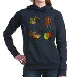 Happy Fall YAll Autumn Thanksgiving Women's Hooded