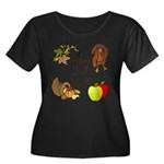 Happy Fall YAll Autumn Thanksgiving Plus Size T-Sh