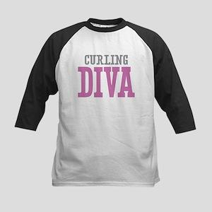 Curling DIVA Baseball Jersey