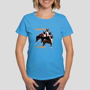 Basenji power Women's Dark T-Shirt