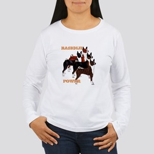Basenji power Women's Long Sleeve T-Shirt