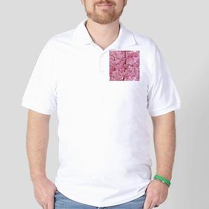 Cherry Blossoms pink Golf Shirt