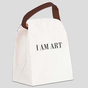 I AM ART Canvas Lunch Bag