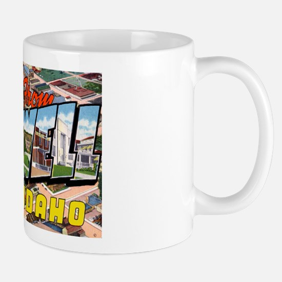 Caldwell Idaho Greetings Mug