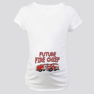Future Fire Chief Maternity T-Shirt