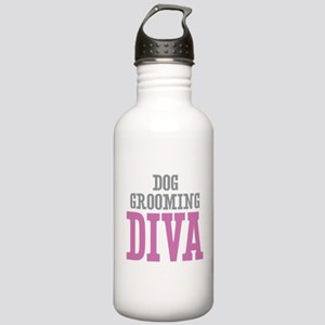Dog Grooming DIVA Stainless Water Bottle 1.0L
