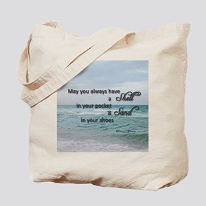 Shell and Sand Tote Bag