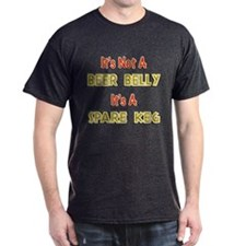 Not A Beer Belly Dark T-Shirt