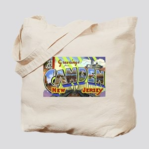 Camden New Jersey Tote Bag