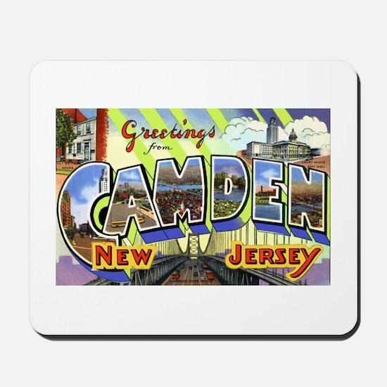 Camden New Jersey Mousepad