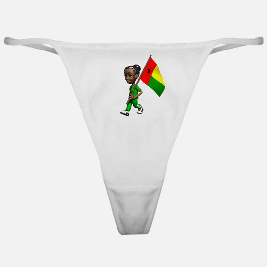 Guinea-Bissau Girl Classic Thong