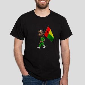 Guinea-Bissau Girl Dark T-Shirt