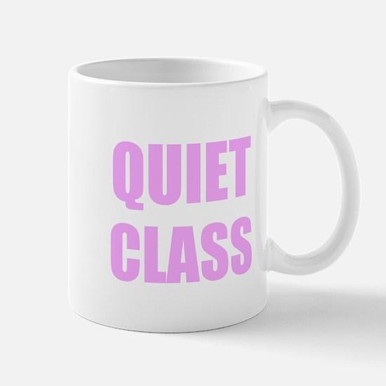 Quiet Class Mugs
