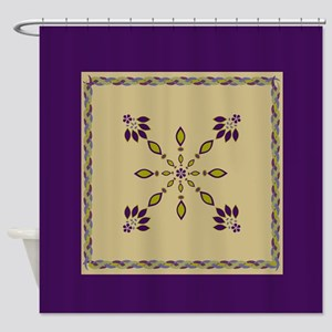 jewelry dangles twisted rope border queen Shower C