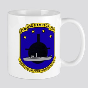USS HAMPTON Mugs