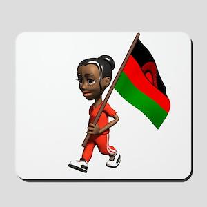 Malawi Girl Mousepad