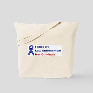 support law enforcement Tote Bag