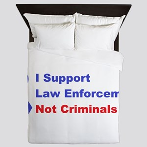 support law enforcement Queen Duvet