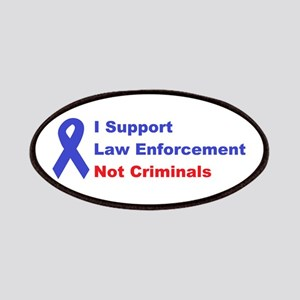 support law enforcement Patches