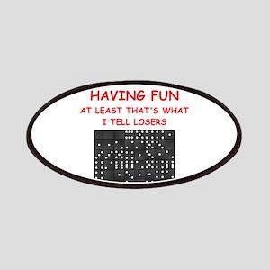 dominoes joke Patches