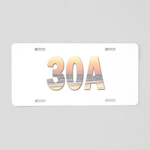 30A Aluminum License Plate