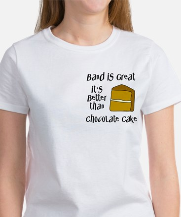 Band is Great Pocket Image Women's T-Shirt