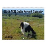 2018 Ncr Collie Portrait Wall Calendar