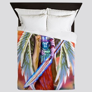 Angel Michael Queen Duvet