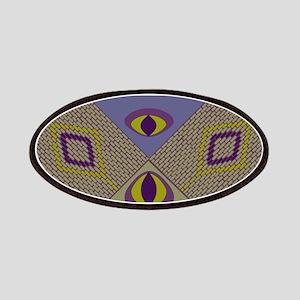 tigers eye dangle diamond mosaic tiles beads borde
