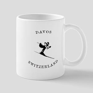 Davos Switzerland Ski Mugs