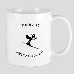 Zermatt Switzerland Ski Mugs
