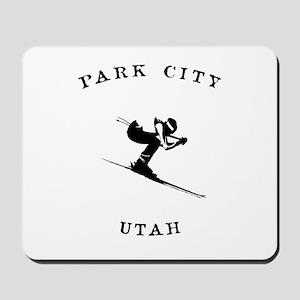 Park City Utah Ski Mousepad