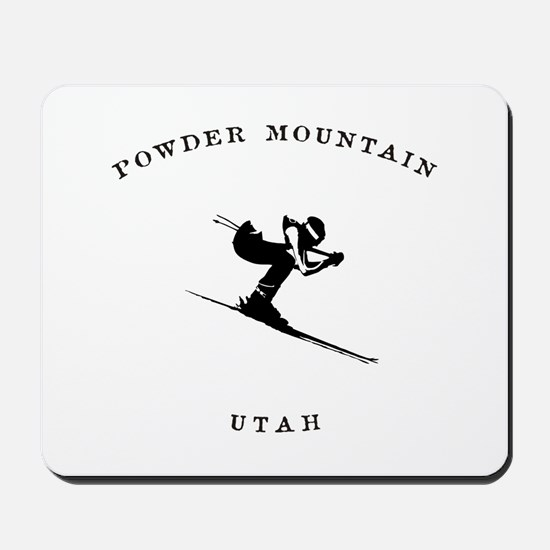 Powder Mountain Utah Ski Mousepad