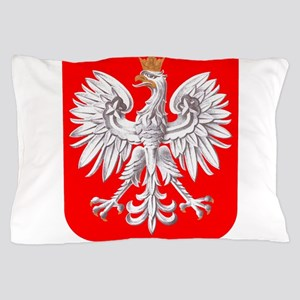 Polska Football Coat of Arms Euro 2012 Pillow Case