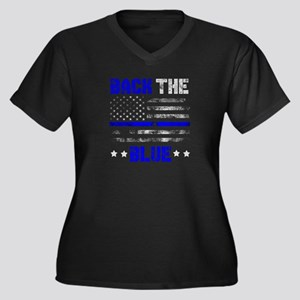 Back The Blue Thin Line Police Support Blue Lives