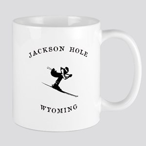 Jackson Hole Wyoming Ski Mugs