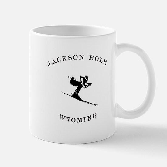 Jackson Hole Wyoming Ski Mugs
