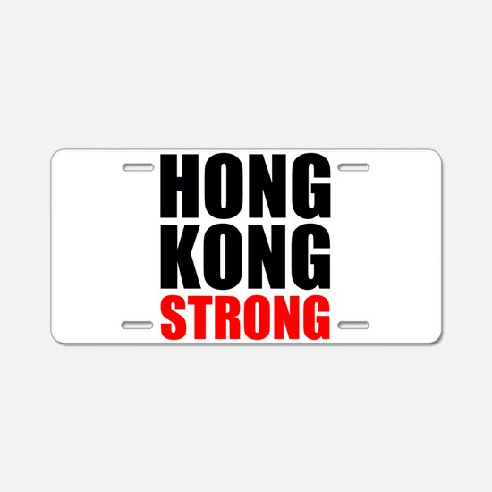 Hong Kong Strong Aluminum License Plate