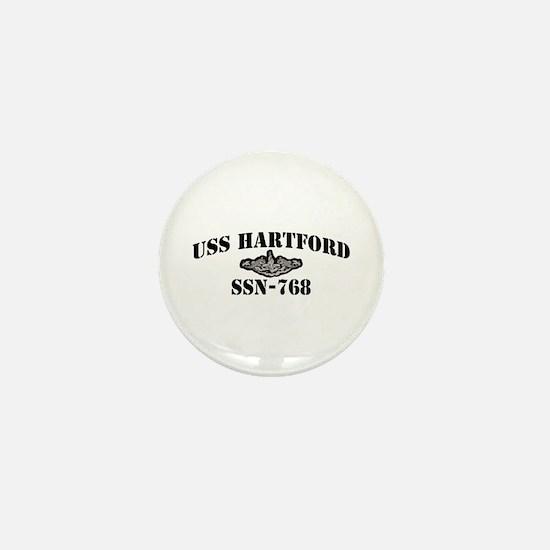 USS HARTFORD Mini Button